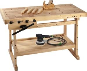 Werkbank Holz